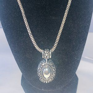 AVON Textured Scroll Necklace